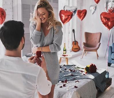 הצעת נישואין בספא