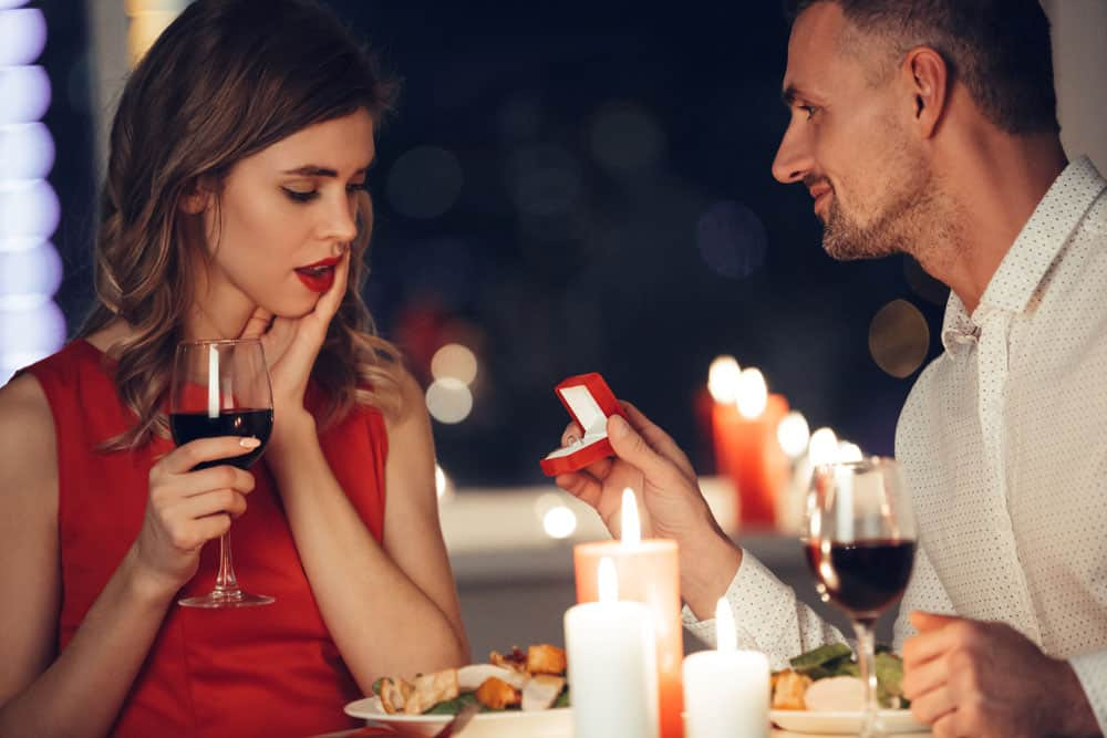 הצעת נישואין אינטימית
